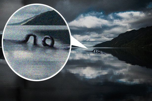 Is Nessie trying to tell us something? © The Mirror