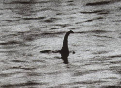 The 'Surgeon's Photograph' - the most famous of the Nessie hoaxes