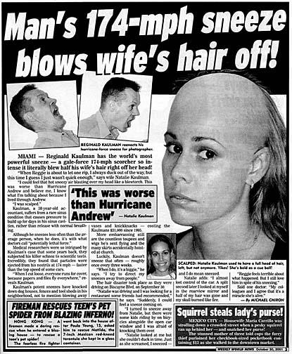 strange tabloid headlines