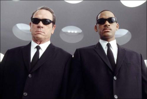 Will Smith and Tommy Lee Jones in 'Men in Black'