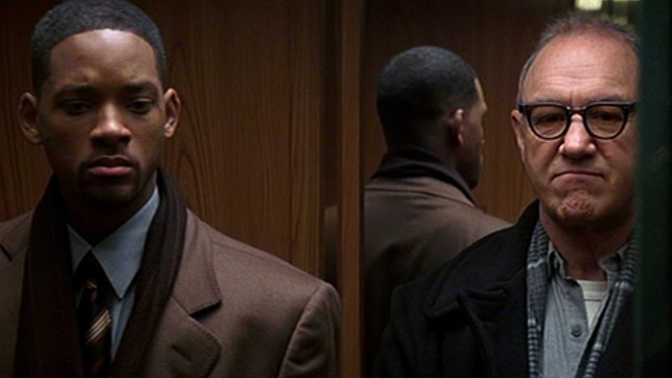 Will Smith and Gene Hackman