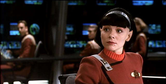 It's Samantha Jones - as a Vulcan!