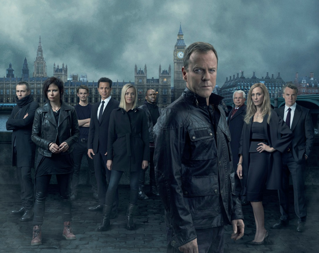 The cast of '24 - Live Another Day'