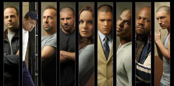 The cast of 'Prison Break'