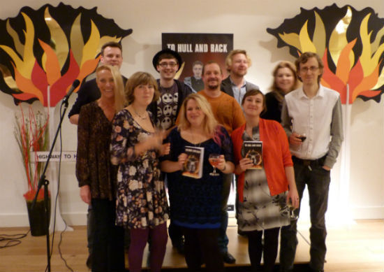 Some of the writers and judges from the 'To Hull and Back Competition'