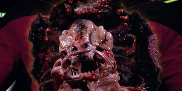 From TNG's 'Conspiracy' - the gory scene that was censored