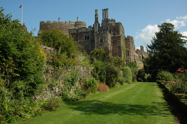 Berkeley Castle - where Edward II was imprisoned and (possibly) murdered