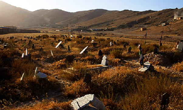 The most frightening graveyard in the world?