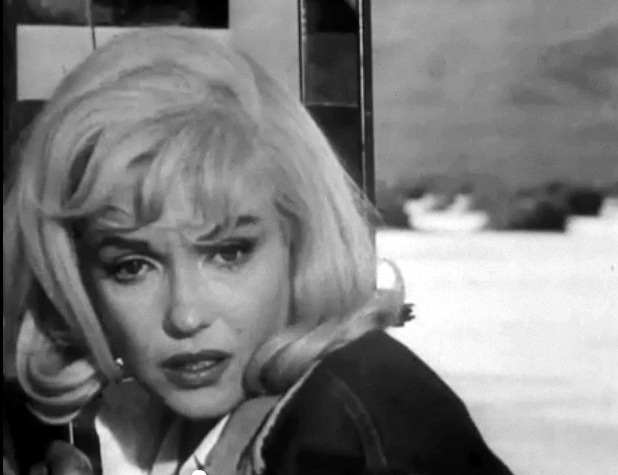 "Marilyn Monroe in her final completed movie ""The Misfits"""