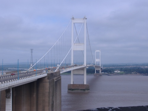 The Severn Bridge - a common spot for suicides