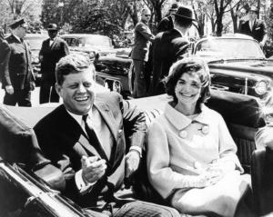 JFK, moments before his assassination