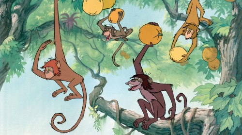 """The Jungle Book"" - apparently these monkeys are black people (!?!)"