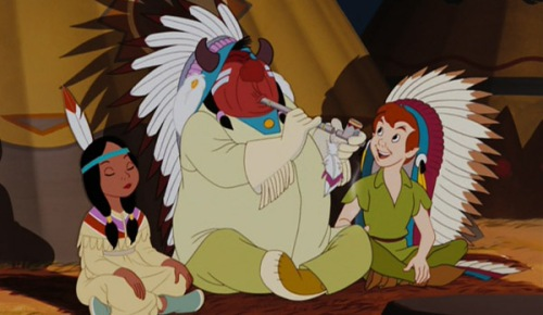 """Questionable Indians in """"Peter Pan"""""""
