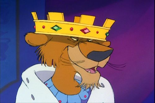 The Disney version of Prince John, Arthur's suspected killer