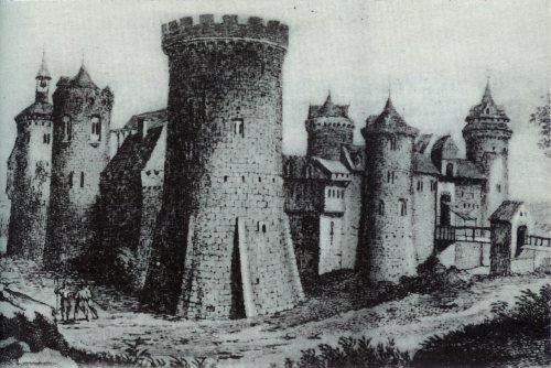 Rouen Castle - where Prince Arthur was last seen