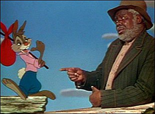 """Uncle Remus and Brer Rabbit in """"Song of the South"""""""