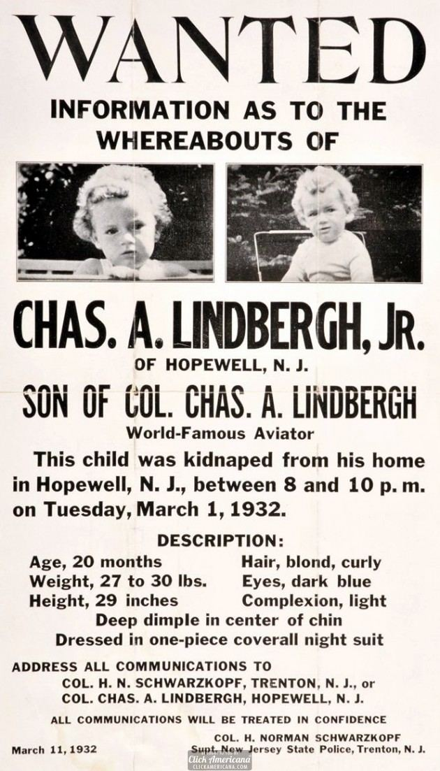 charles lindbergh kidnapping essay Free charles lindbergh papers, essays, and research papers.