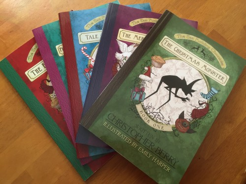 "Find out where Christmas really came from... All 5 books in Roald Dahl and Tim Burton-inspired Christmas series ""The East Pudding Chronicles"" are now available!"
