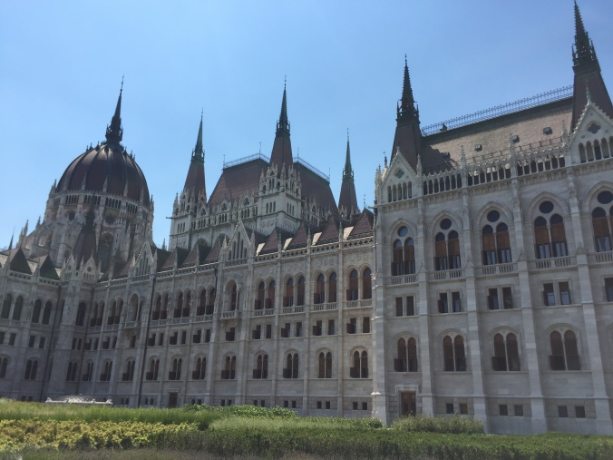 Hungarian Parliament Building, Budapest - but who's really in charge here?