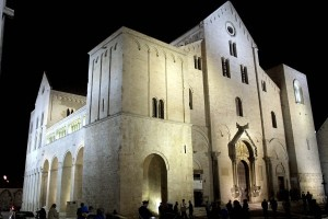The Basilica of St Nicholas, where most of Santa's bones now reside